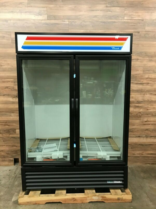 2-Section Refrigerated Glass Door Merchandiser