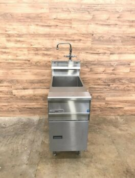Rinse Station w/ Faucet, 10 Gallon Capacity