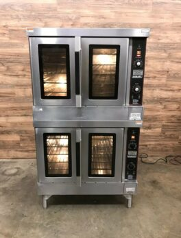 Hobart Double Deck Full Size Convection Oven