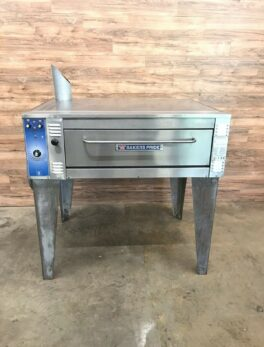 "Bakers Pride 55"" Single Deck Electric Pizza Oven"