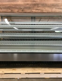 Curved Glass Refrigerated Display Bakery/Deli Case