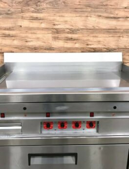 Commercial Chrome Countertop Griddle