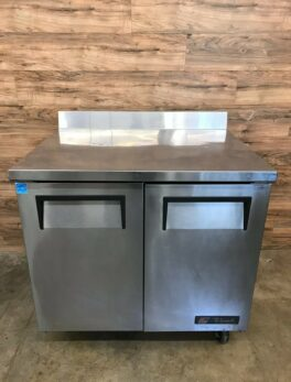 "36"" Worktop Solid 2-Door Refrigerator"