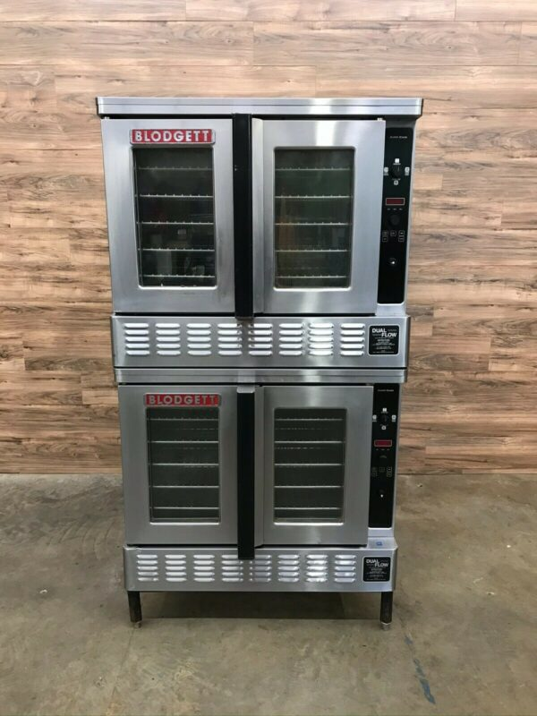 Blodgett DFG-200-I Bakery Depth Double Deck Full Size Gas Convection Oven