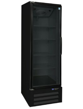 Black Glass Door Refrigerated Merchandiser