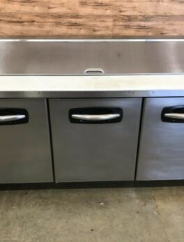 3-Door Refrigerated Sandwich Prep Table