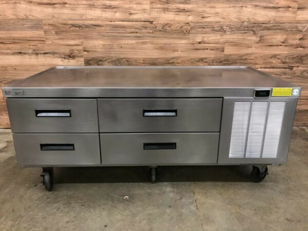 """Delfield F2962C 62"""" 4 Drawer Refrigerated Chef Base"""