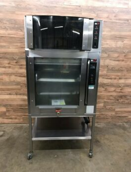 Rotisserie Electric Oven (Ph3) w/ Self Contained Exhaust Hood
