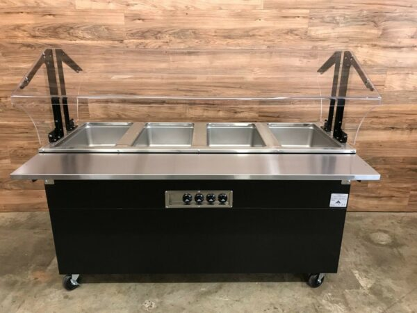 Advance Tabco BSW4-120-B-SB 4 Well Electric Hot Food Table