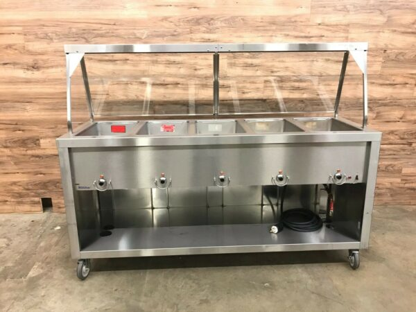 Duke 5 Hot Well Electric Serving Station