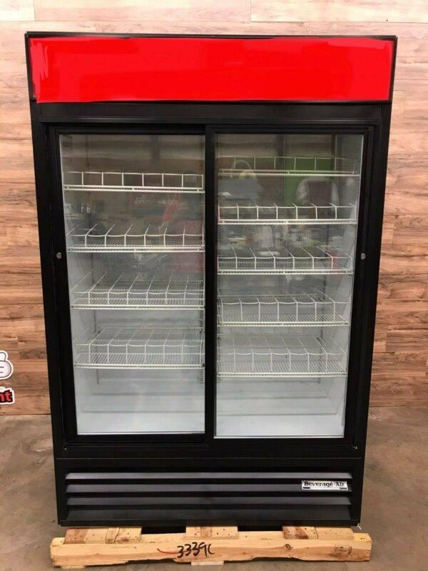 Beverage Air MT45 2-Door Merchandiser Refrigerator, 115 V Phase 1