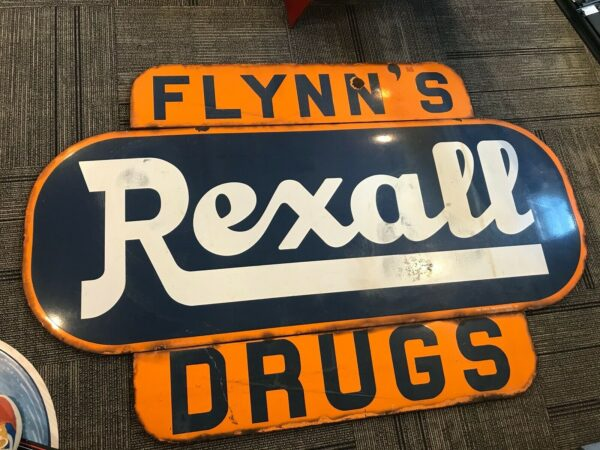 Large Rexall Drugs Sign