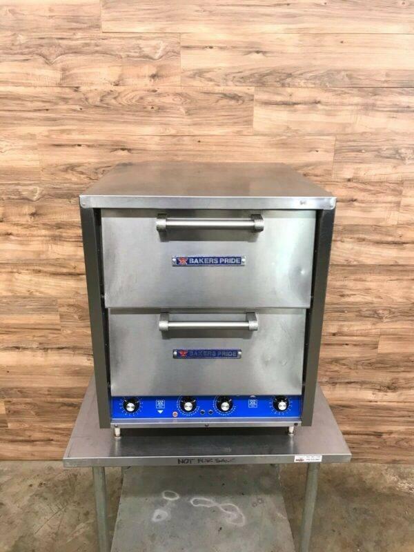 Bakers Pride P-44S Countertop Pizza/Pretzel Oven, 4-Decks, 208 V Phase 3