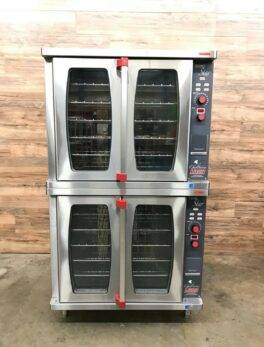 Lang Double Stack Convection Oven, Gas