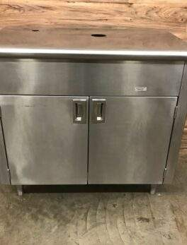 Flagstar Corp. 92002505 Stainless Steel DIW Register Counter