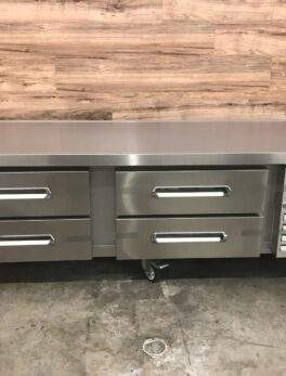 """Electrolux 74"""" Refrigerated Chef Base, 4 Drawer"""