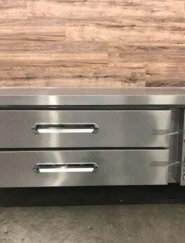 "2019 60"" 2 Drawer Refrigerated Chef Base, 115 V"