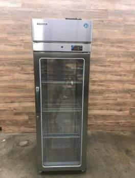 "Hoshizaki 28"" 1-Section Glass Door Pass-Thru Refrigerator"