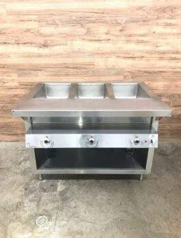 Thermaduke E-3-DLSS-SW M Electric 3 Hot Food Well Table