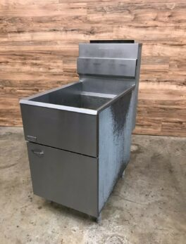 Pitco 65C+S Single Fryer, Natural Gas