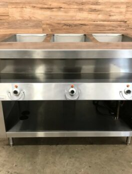 Thermaduke Electric 3 Hot Food Well Table