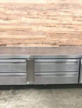 Refrigerated Chef Base, 4 Drawers