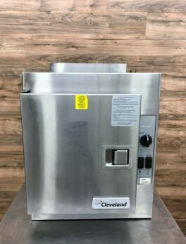 2013 Cleveland 21CGA5 5 Pan Countertop Steamer, Natural Gas